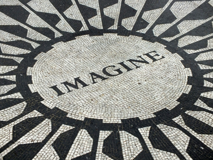 STRAWBERRY FIELDS ~ the beautiful memorial for John Lennon. I was lucky enough to meet Sir Paul McCartney on my flight from the UK to New York, so I had a bit of a Beatles-filled weekend!