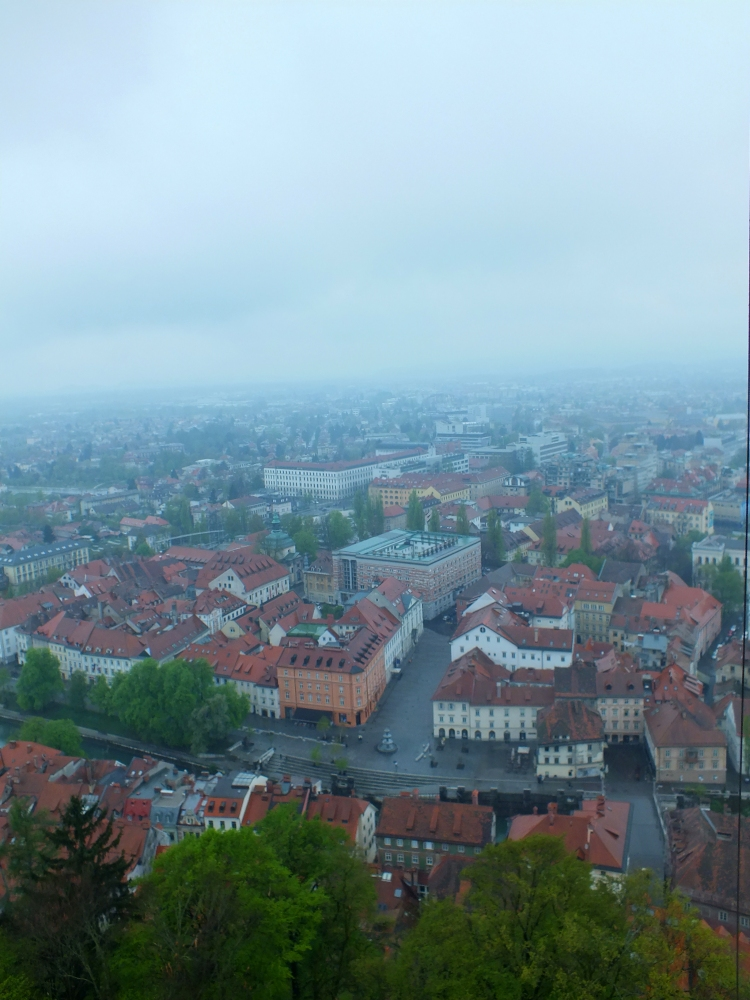VIEW FROM THE CASTLE