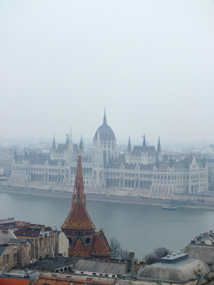VIEW OF PARLIAMENT FROM THE BASTION