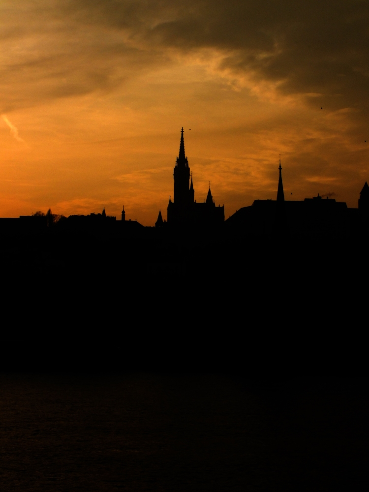 BUDA AT SUNSET