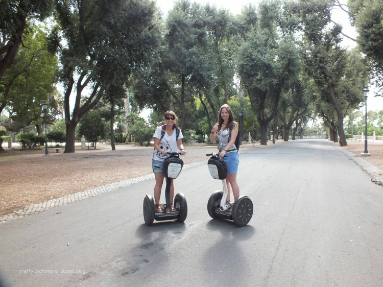 SEGWAYING AROUND VILLA BORGHESE