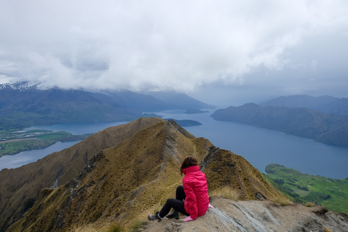 New Zealand Roadtrip: Wanaka & Hiking Roys Peak